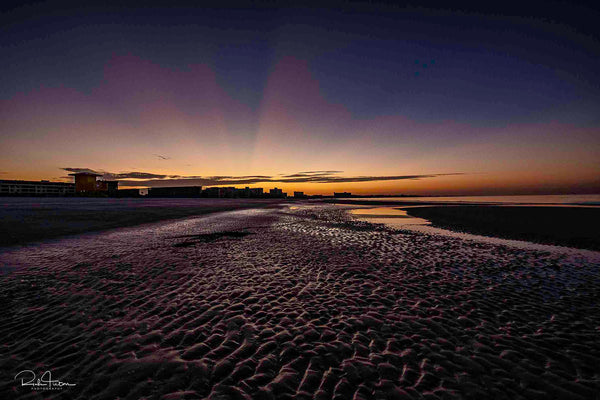 Aluminum Photo panel- Sunrise on Siesta Key