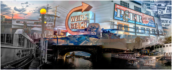 Coffee Mug- Weirs Beach Collage