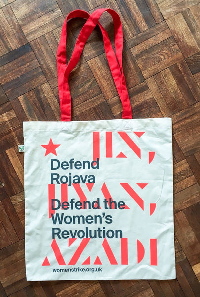 Defend Rojava Tote bag
