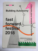 Building Autonomy Fast Forward 2018 poster