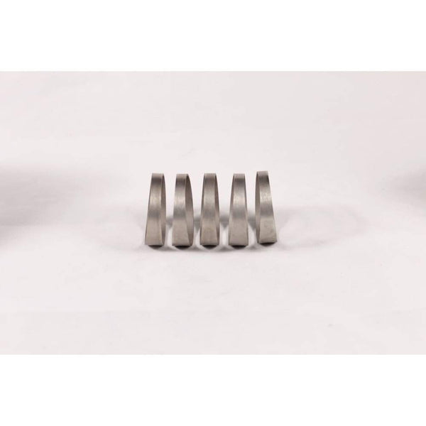 1.5 Titanium Pie Cut - 1D Tight Radius - 1Mm Wall - 5Pcs (45°Total) - Pie Cut Kit