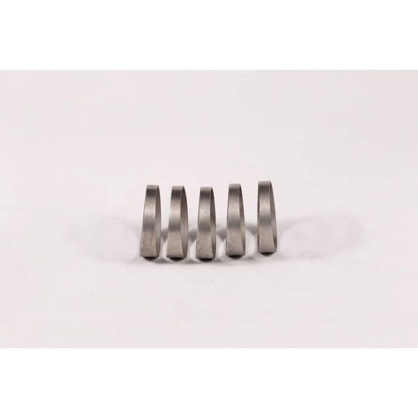 1.75 Titanium Pie Cut - 1D Tight Radius - 1Mm Wall - 5Pcs (45°Total) - Pie Cut Kit