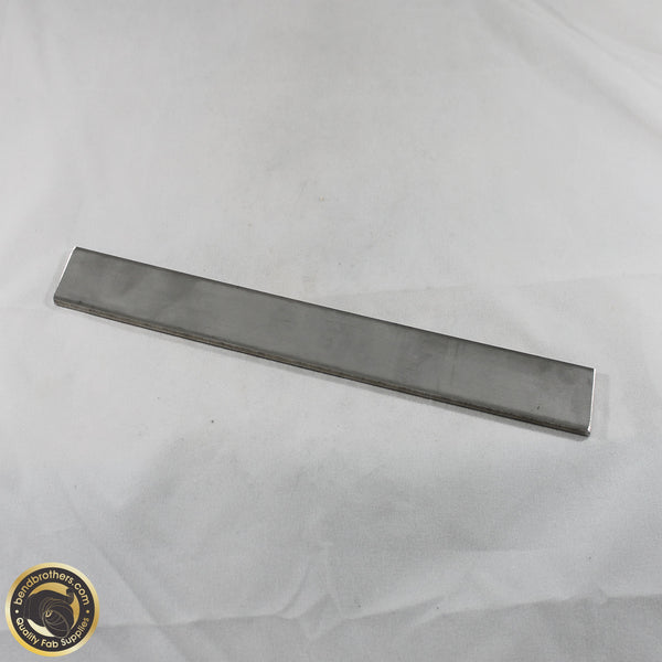 304 Stainless Steel Flat Bar - 25mm x 3mm x 250mm