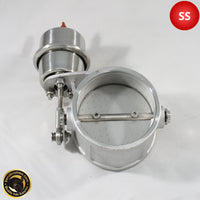 "3"" (76mm) Stainless Steel Exhaust Valve - Vacuum Actuated"