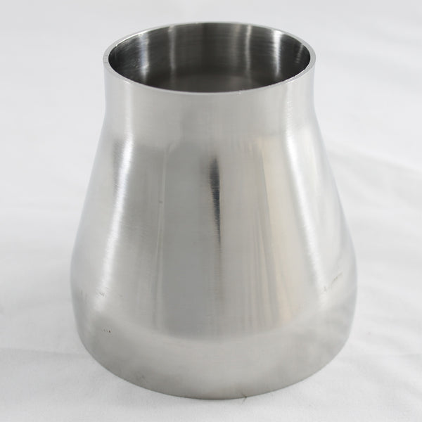 "3"" (76mm) To 4.5"" (114.3mm) Stainless Steel Concentric Size Reducer"