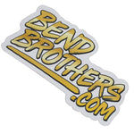 The Bend Brothers Commercial Sticker - XXL Size