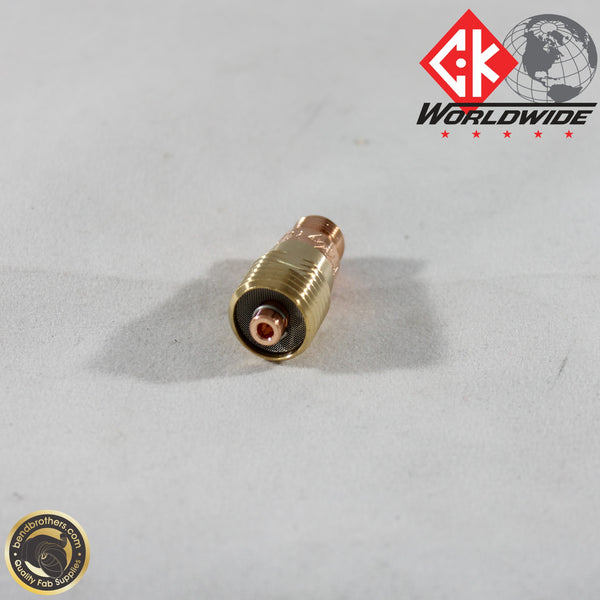 "3/32"" (2.4mm) Stubby Gas Lens - For Wp17, 18, & 26 torches 