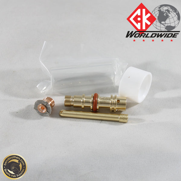 "3/32"" (2.4mm) Pyrex Gas Saver Kit For WP17, 18 & 26 Series Torches 