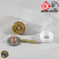 "3/32"" (2.4mm) Large Diameter Pyrex Gas Saver Kit For WP17, 18 & 26 Series Torches 