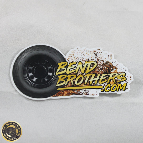 Bend Brothers Mud Menace Sticker