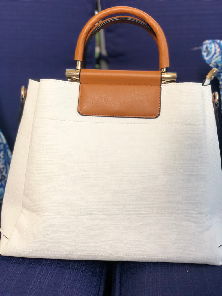 Carmel Cream Handbag