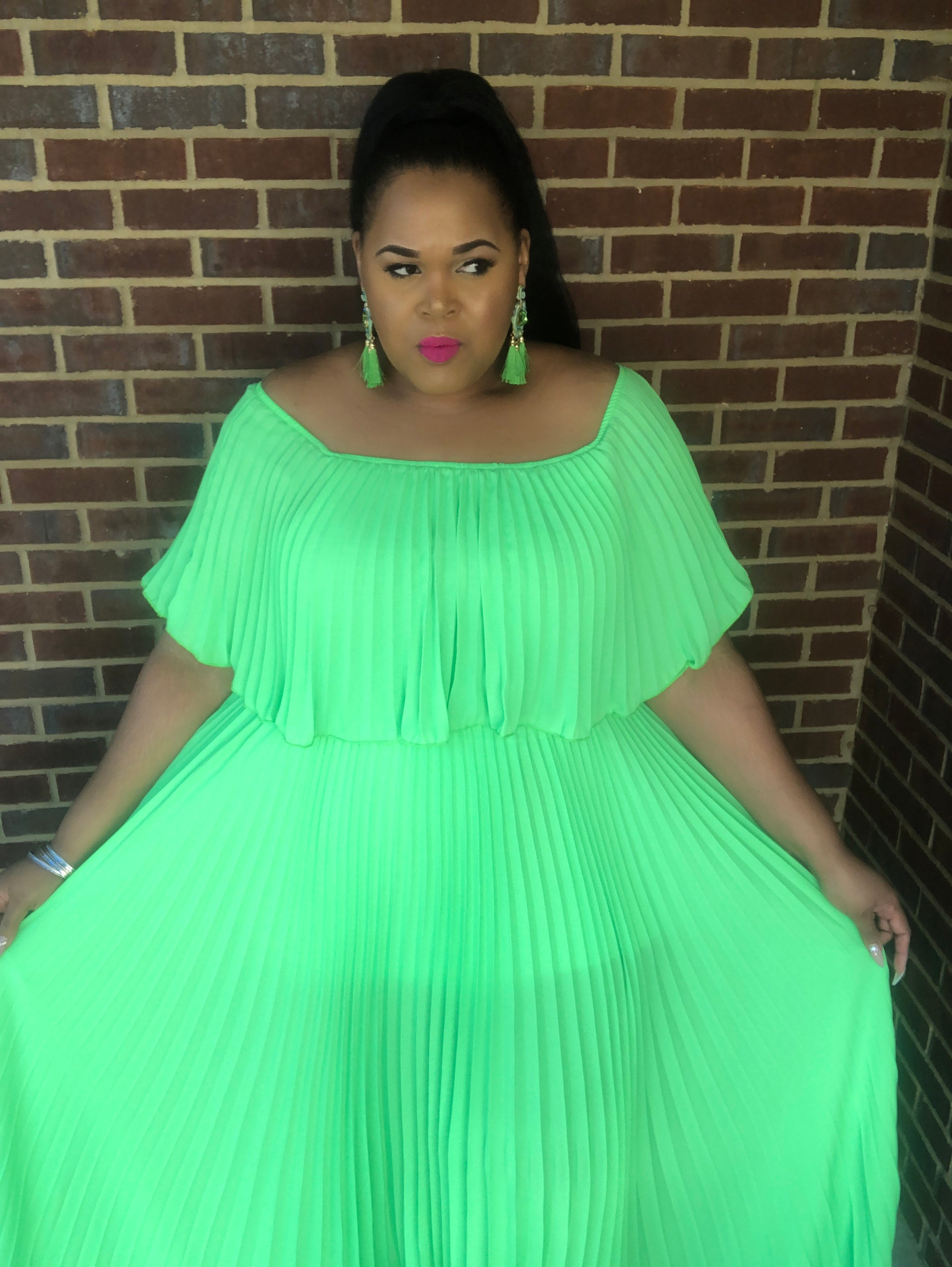 Sublime in Lime Dress