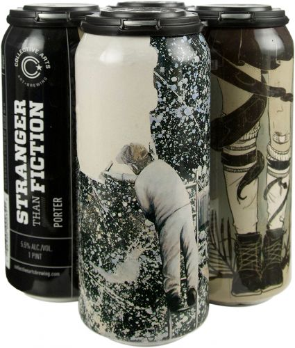 Collective Arts Stranger Than Fiction Porter 4pk 16oz Cans