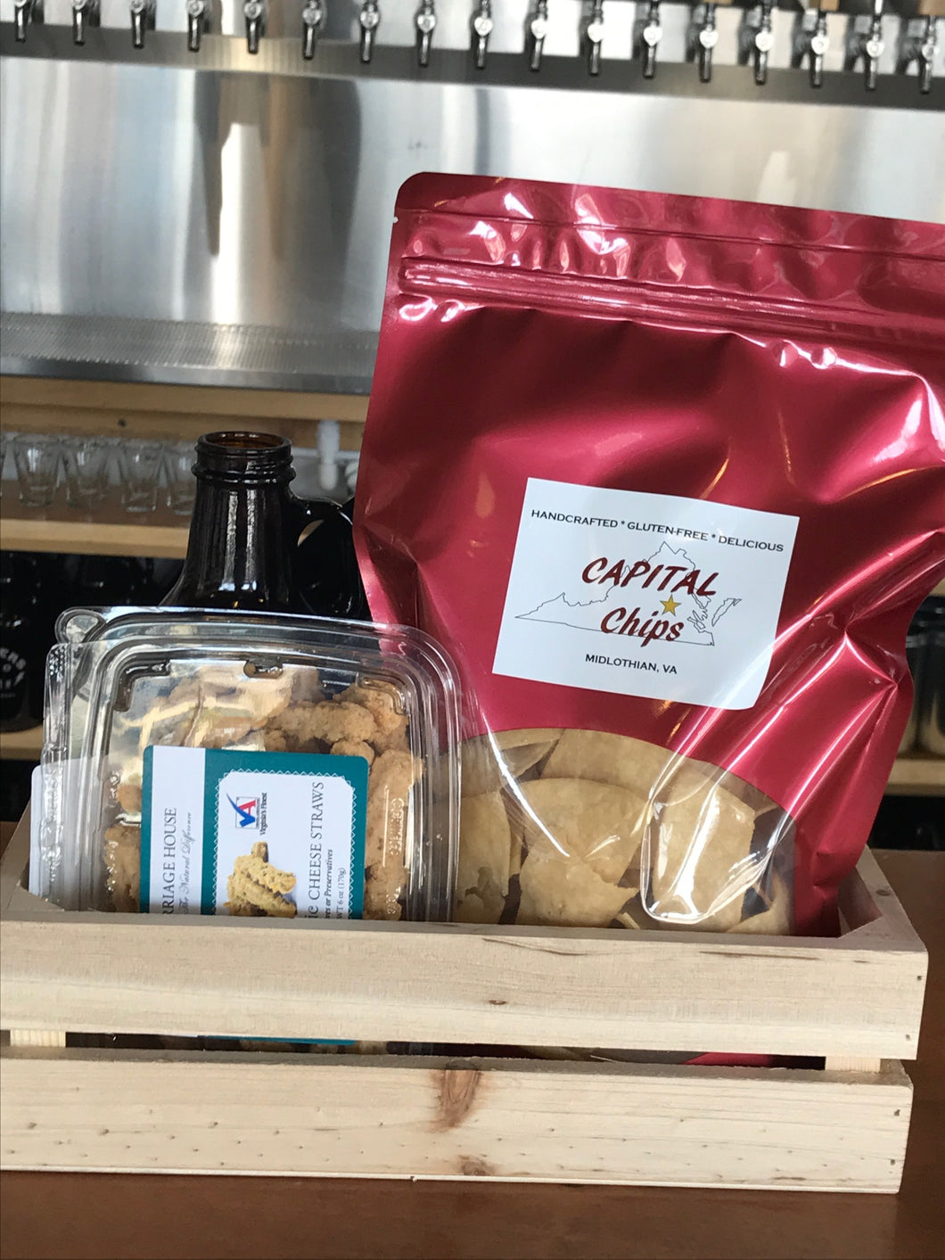 Six Pack Gift Pack: Salty Snacks & 6 Packs
