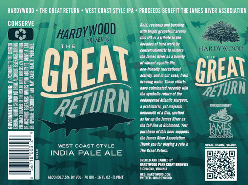 Hardywood Great Return