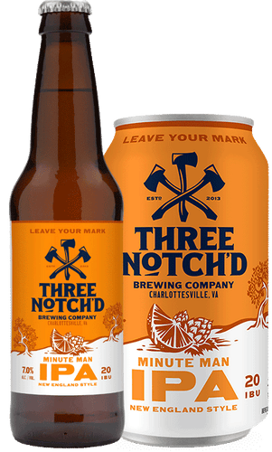 Three Notch'd Minuteman IPA