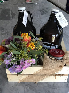 Growler Gift Basket