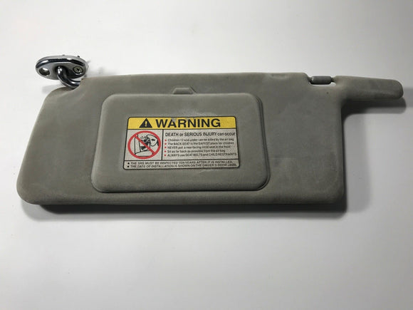1990-1997 Honda ACCORD SUNVISOR GREY LABELED DRIVER LH