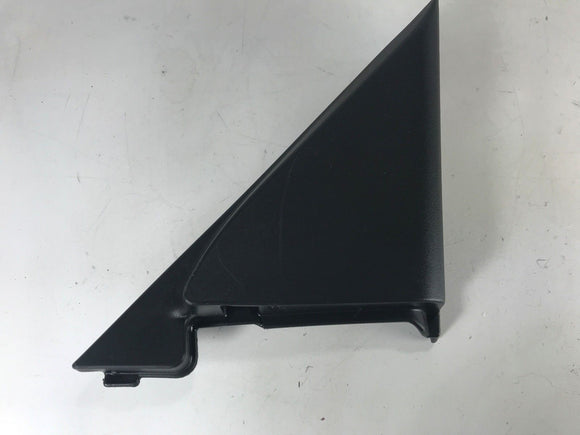 02 2002 HONDA CIVIC 4DR RIGHT FRONT INTERIOR MIRROR TRIM COVER BLACK