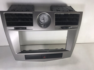 07 08 09 10 2007 2008 2009 2010 CHRYSLER SEBRING RADIO DASH VENT BEZEL CLOCK