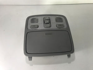 2005-2009 Hyundai Tucson Overhead Console w/SUNROOF Lights & Storage Compartment