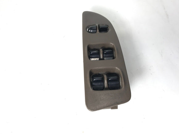 Nissan Altima Power Window Master Switch '93-97 6-Button Brown Drivers Side