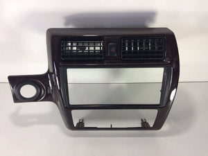 95-99 Toyota Avalon Radio Climate Control Center Dash Bezel Trim WOOD GRAIN