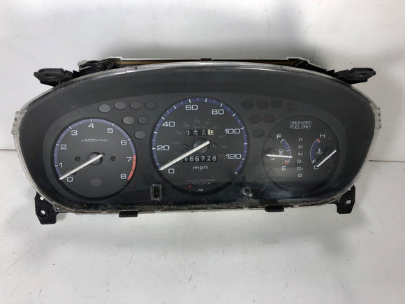 1996-2000 CIVIC SPEEDOMETER HEAD INSTRUMENT CLUSTER GAUGES 78100 S01 A600 166K