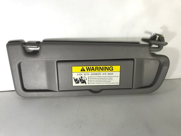 HONDA CIVIC 2006-2011 Gray OEM SUN VISOR PASSENGER RIGHT SIDE SUNVISOR