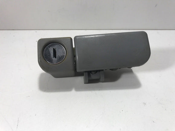 1999 2000 2001 2002 2003 Mitsubishi Galant Glove Box lock latch keyed - GRAY