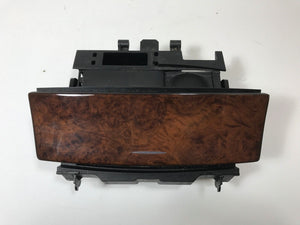 05-09 MERCEDES W209 CLK500 CLK320 CLK55 CENTER ASH TRAY WOOD GRAIN TRIM