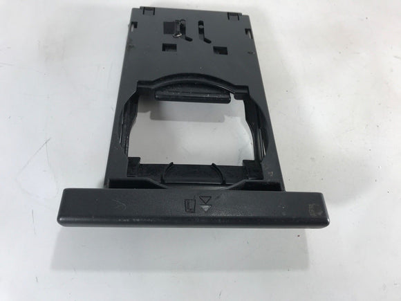 98 99 00 01 02 Subaru Forester DASH CONSOLE Cup Holder BLACK 1998 - 2002