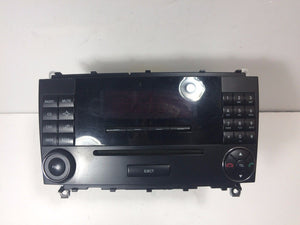 06-09 Mercedes W209 CLK500 Command Comand Head Unit Radio Navigation A2098701089
