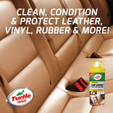 Turtle Wax 50729 Total Leather Cleaning & Conditioning Kit