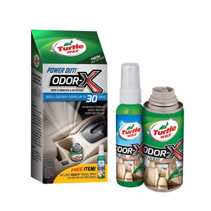 Turtle Wax 50653-6PK Power Out Odor-X Whole Car Blast Kit, Pack of 6