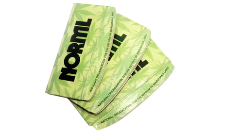 NORML Curved 100% Organic Hemp Rolling Papers