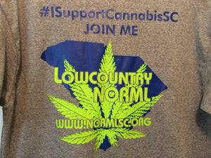 Short Sleeve T-Shirt I Support Cannabis SC