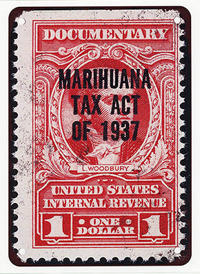 Tax Stamp Poster 8.5