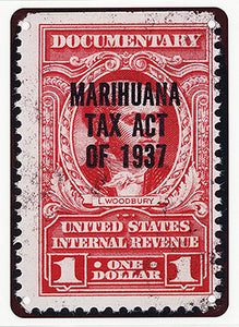 "Tax Stamp Poster 8.5""x11"""