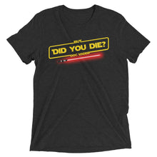 "Men's Doc V ""But Did You Die"" Shirt"