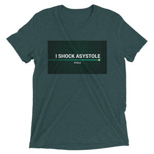 I Shock Asystole Men's t-shirt