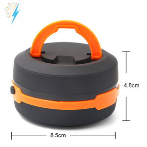 2 in 1 Collapsible Camping Lantern and Flashlight (Pack Of 2)