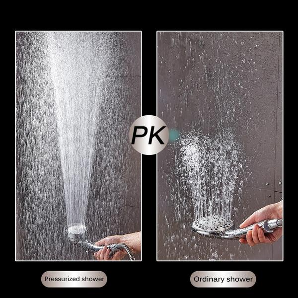 JetMax™ Pressurized Ionic Shower Head