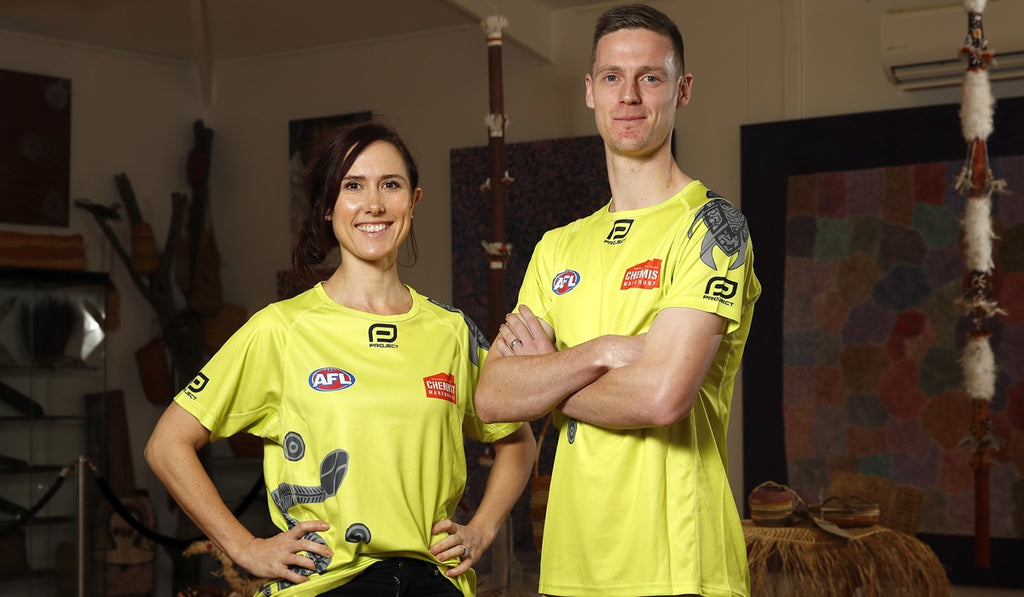 AFL Umpires unveil Sir Doug Nicholls Round shirt