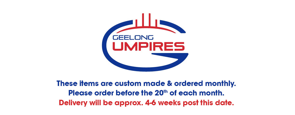 Geelong Umpires - Off Field