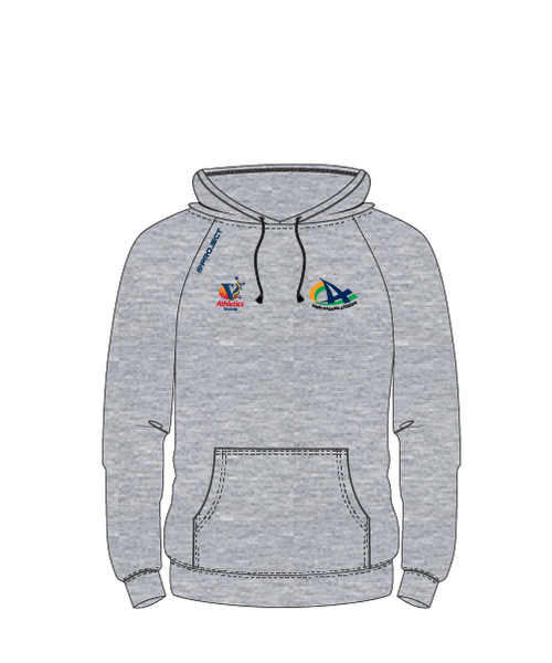 CCA Unisex Hoodie (no zip, grey fleece)