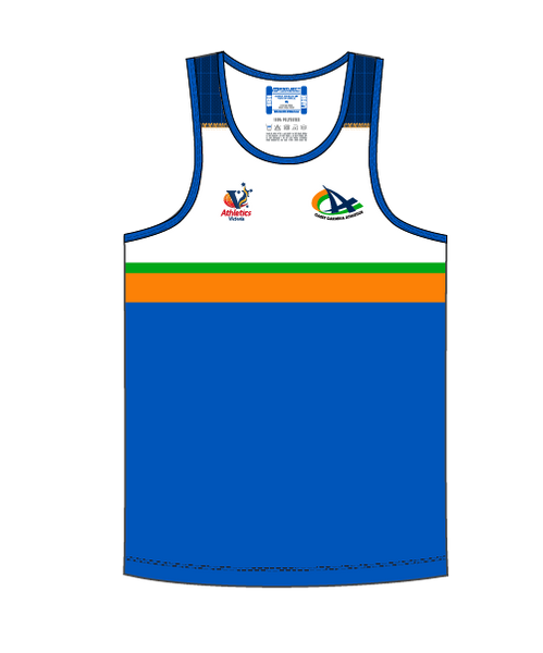 CCA Men's Competition Singlet - Compulsory Uniform
