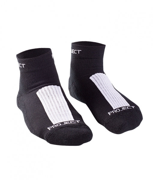 Merino Run Sock - BLACK