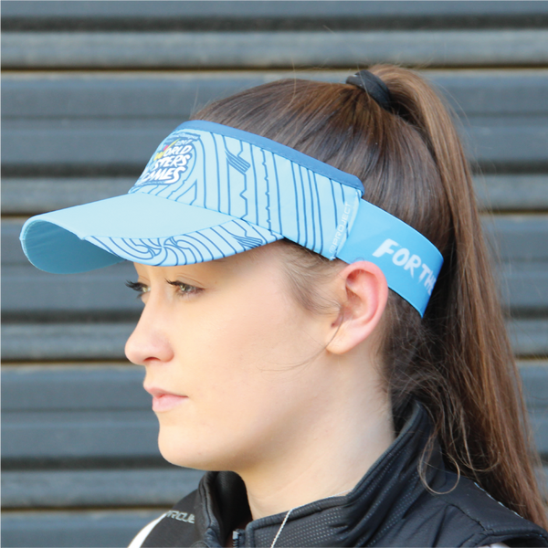 Performance Visor Blue