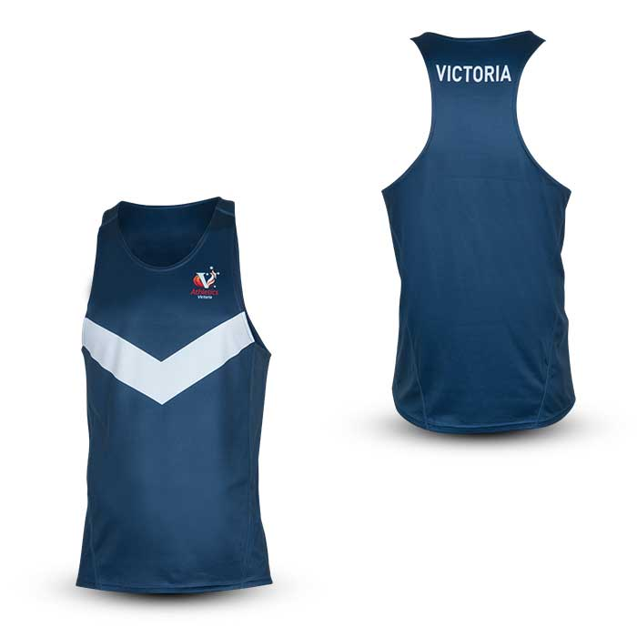 VIC Men's Performance Singlet - Competition Item